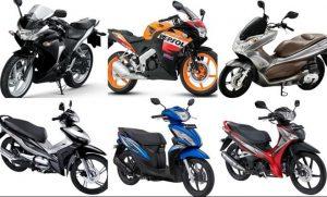 インドネシアのバイクの種類