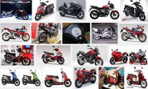 インドネシアのバイクHONDA