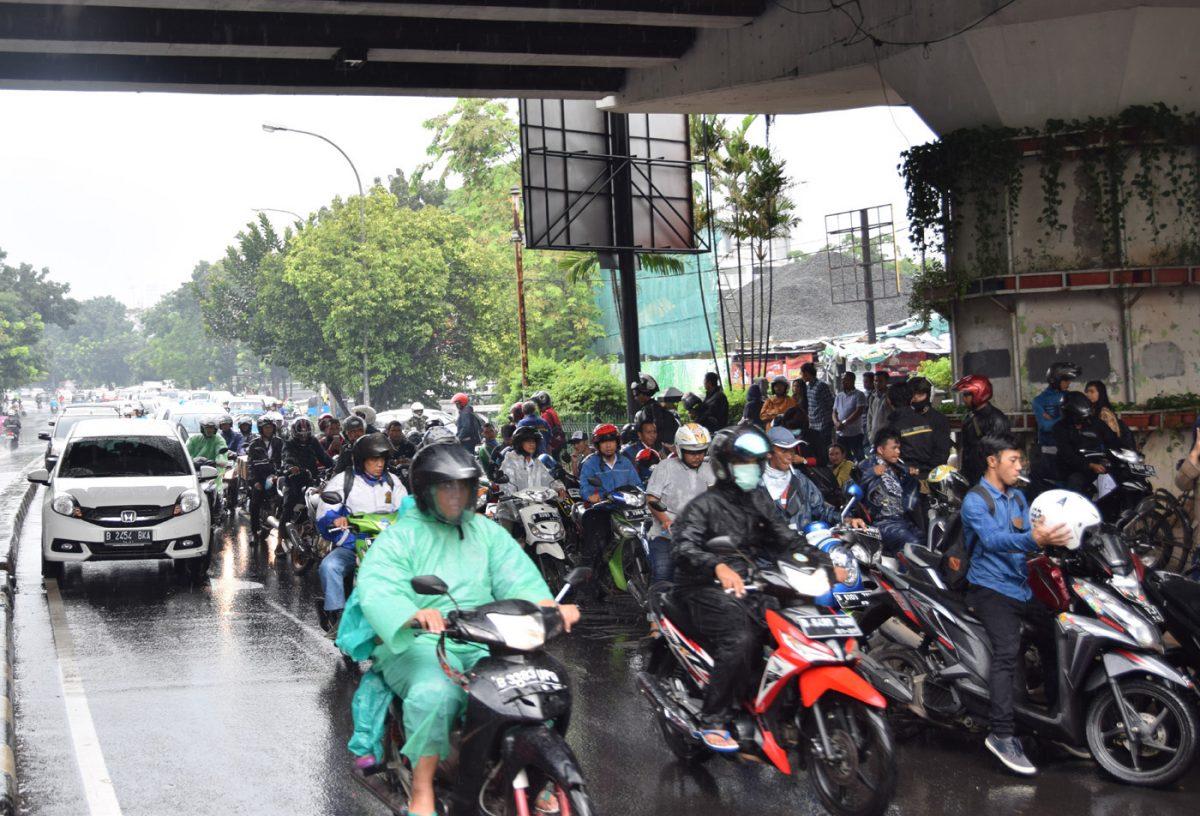 インドネシアの渋滞事情