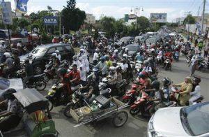 インドネシアのバイクマナー