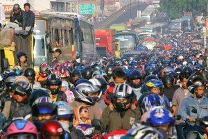 インドネシアでのバイクの利点