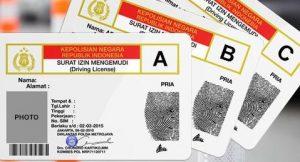 インドネシアの免許
