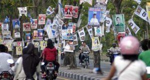 インドネシアと日本の選挙の違い