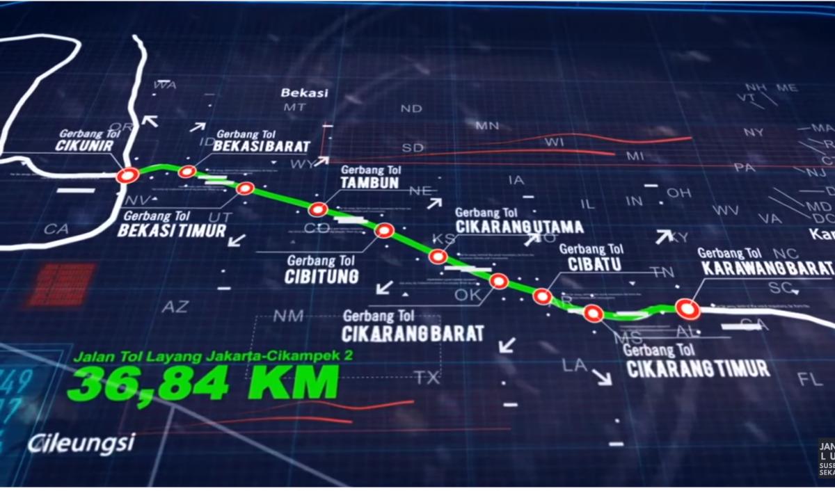 ジャカルタの新高速道路は高速の上を走るトンデモ計画