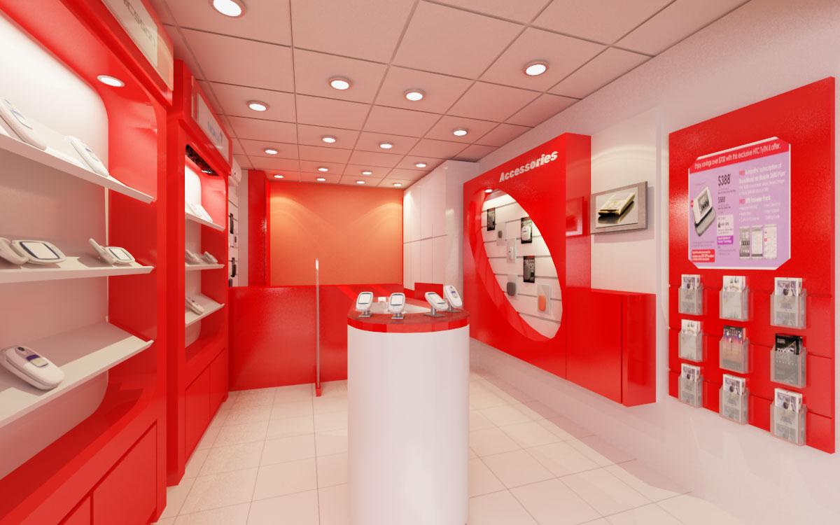 Магазин Красного Цвета