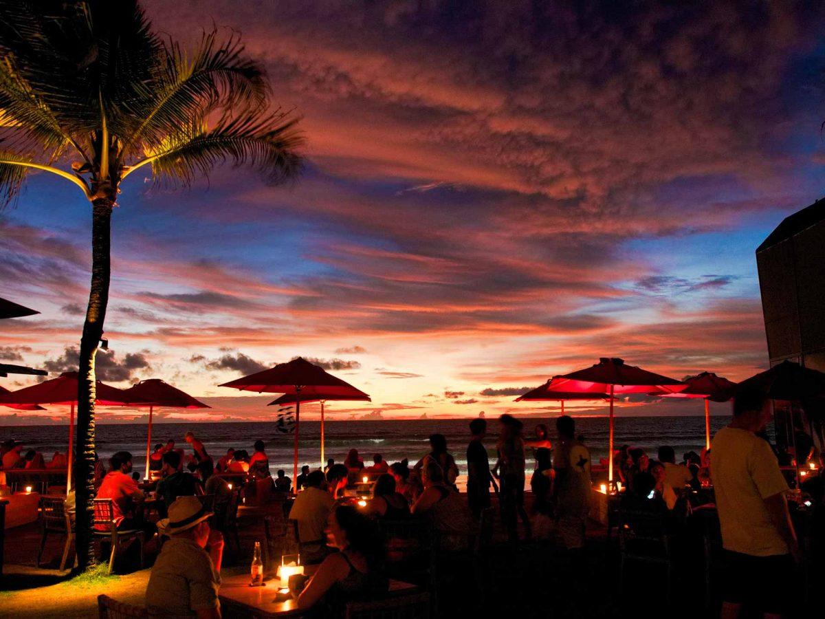 バリ島のチャングーで夕焼けなら絶対ここ!ベストスポット