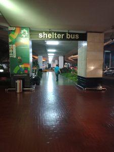 ジャカルタ空港から市内への移動手段/格安バスの乗り場、乗り方