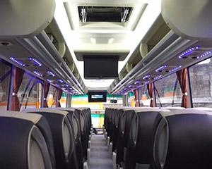 チカランからジャカルタまでの安い移動手段、バスの乗り方