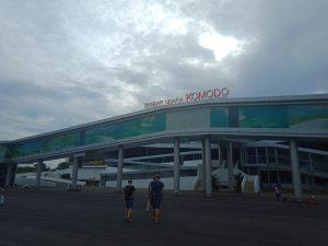 コモド空港からの移動、観光スポット